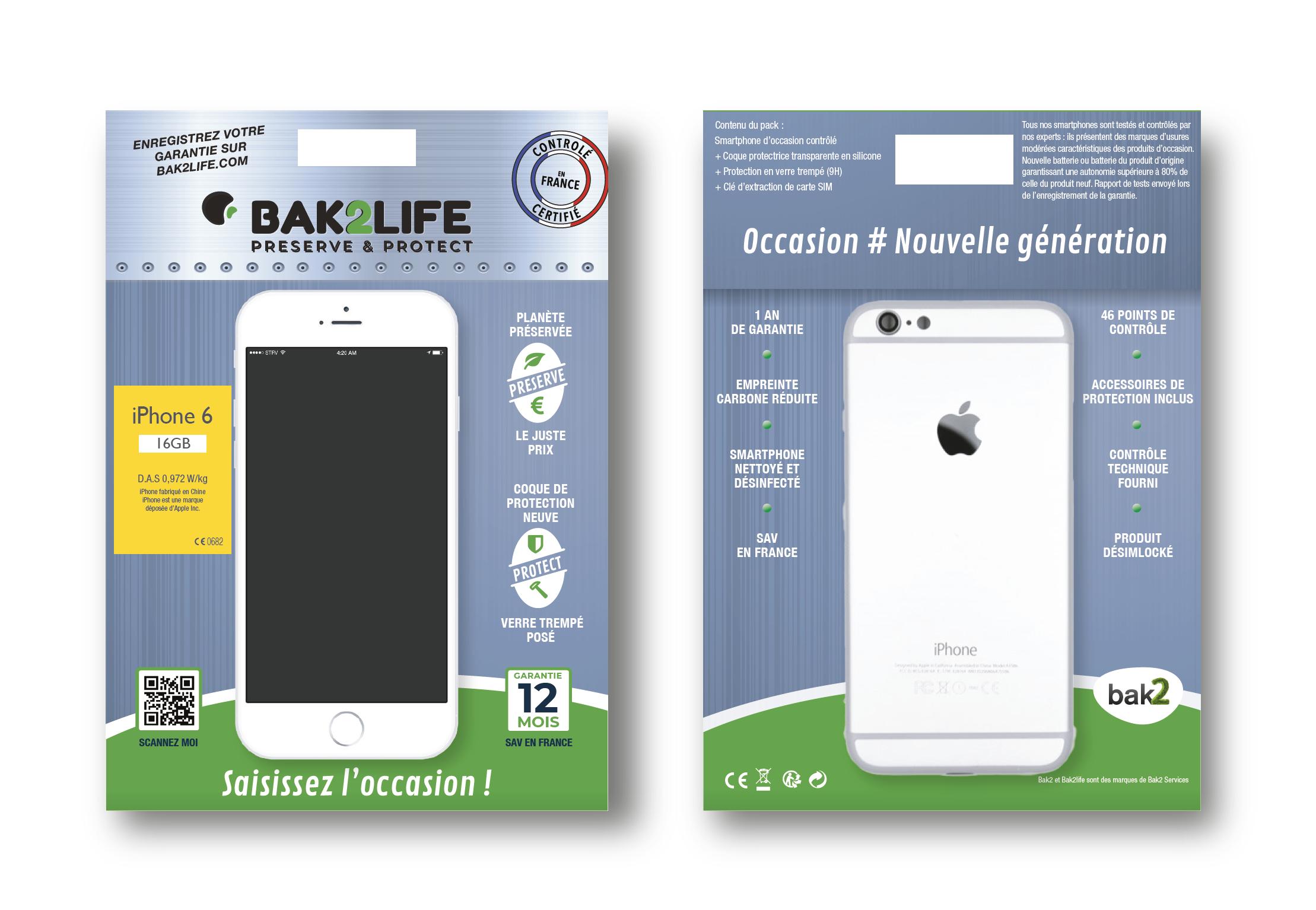 BAK2 Group Téléphones reconditionnés