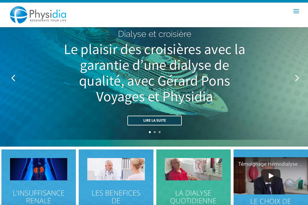 Physidia, l'expert français de la dialyse à domicile